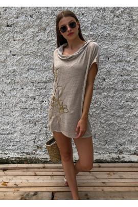 Tričko Ester hnedé
