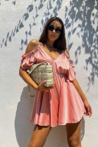 Šaty Bellina ružové