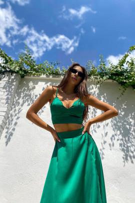Komplet Sofi zelený