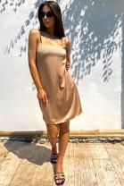 Šaty Edith zlaté