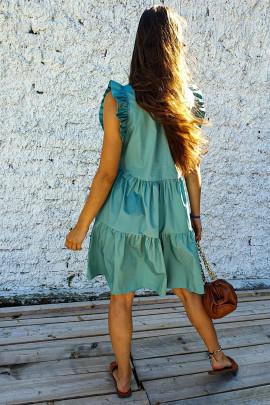Šaty Lizia mentolové