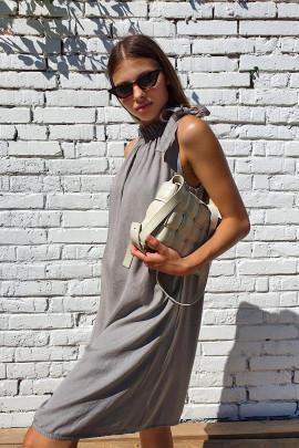 Šaty Idea bahnové