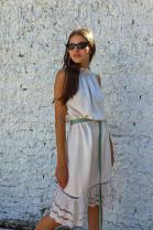Šaty Vitale béžové