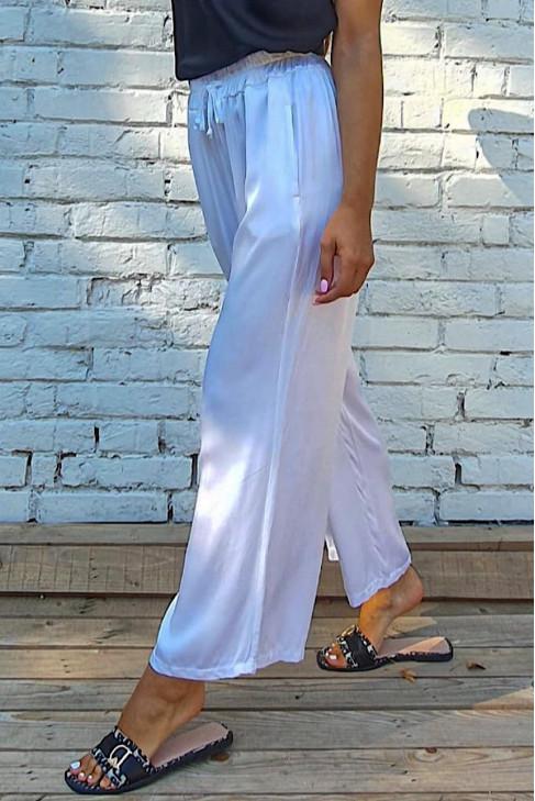 Nohavice Matto biele