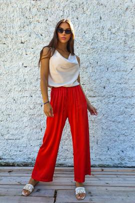 Nohavice Matto červené