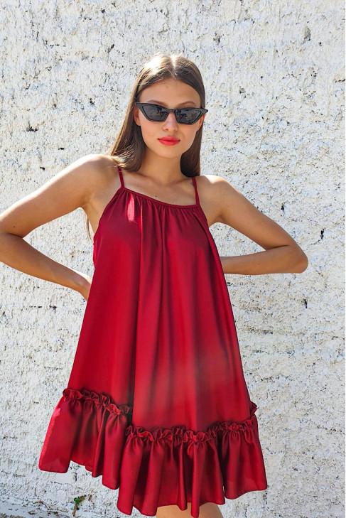 Šaty Licia bordové