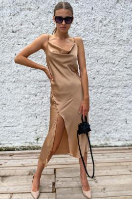 Šaty Viviana béžové