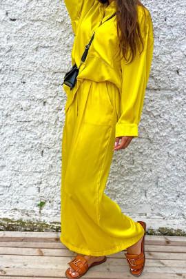Nohavice Sira žlté