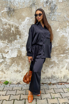 Nohavice Sira čierne