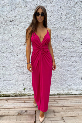 Šaty Lurex ružové