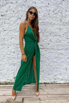 Šaty Lurex zelené