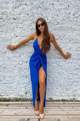 Šaty Lurex modré