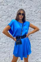 Šaty Evelyn modré