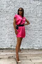 Šaty Evelyn ružové