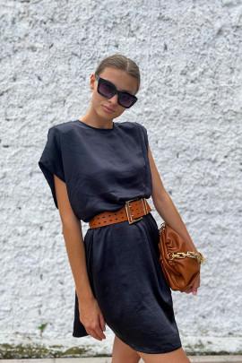 Šaty Evelyn čierne