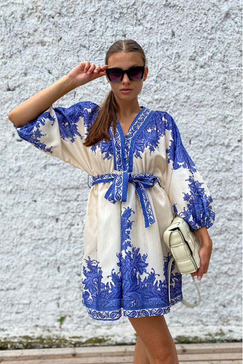 Šaty Nico modré