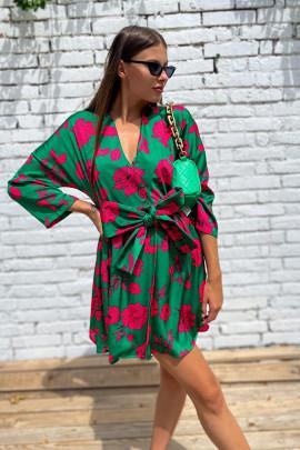 Šaty Alberta zelené