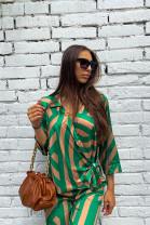 Košeľa Madeline zelená