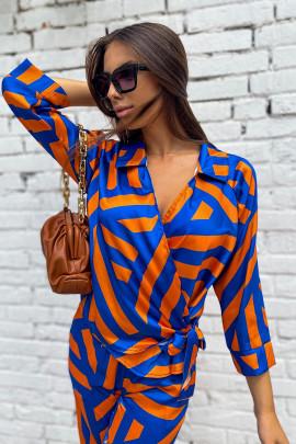 Košeľa Madeline oranžová