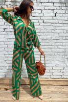 Nohavice Mode zelené