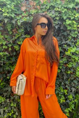 Košeľa Siria oranžová