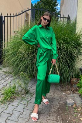 Nohavice Louise zelené