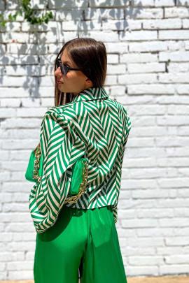 Košeľa Porzia zelená