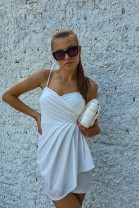 Šaty Lumira biele