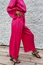 Nohavice Louise ružové