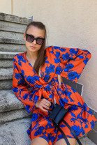 Šaty Sima oranžové