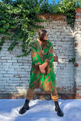 Kabát Laya zelený