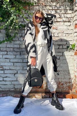 Kabát Laya čierny