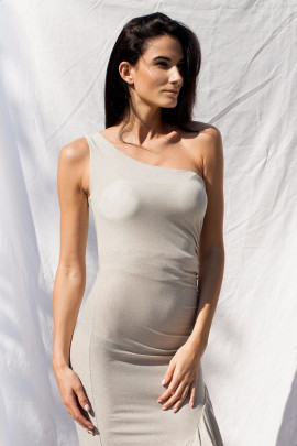 šaty striebor./stříbr.