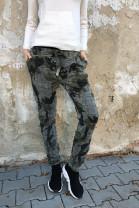 Nohavice TESA khaki zelené