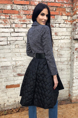 Kabát Rocka sivý
