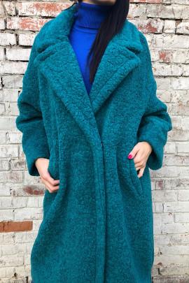 Kabát Pelco tyrkys