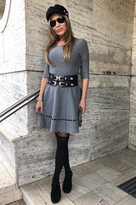 Šaty RORY sivé