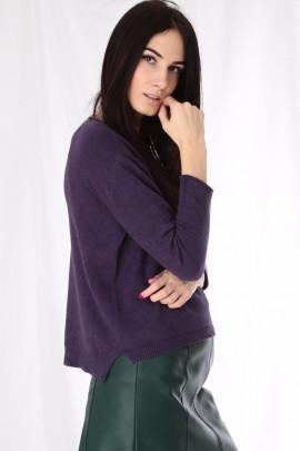 pulover fialový