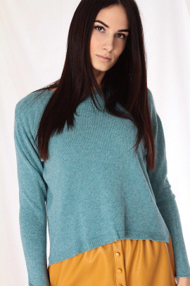 pulover modrý