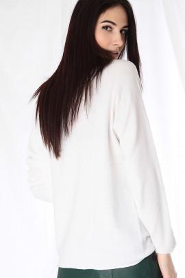 Pulover Véčko biely