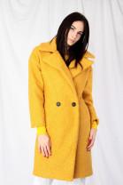 Kabát TEDDY žltý