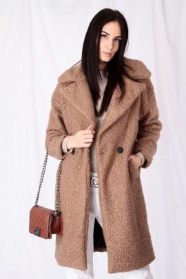 Kabát TEDDY hnedý