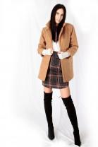 Kabát ROBIN hnedý