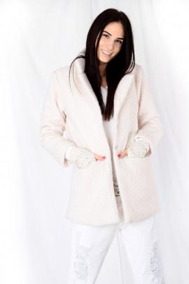 Kabát ROBIN biely