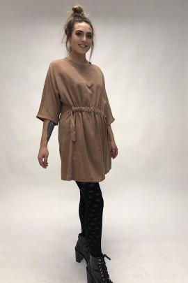 Šaty ZOJA hnedé