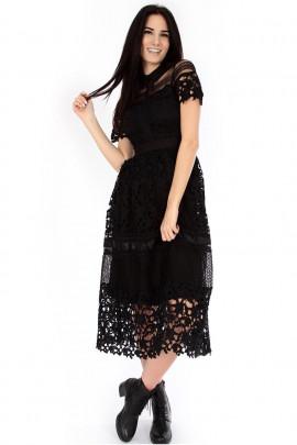 Šaty Elizabet čierne
