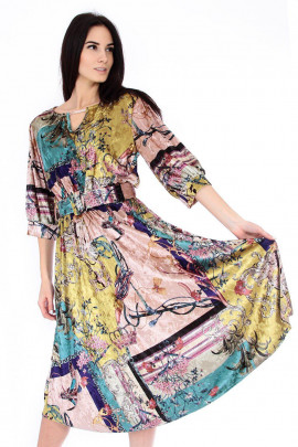 šaty samet
