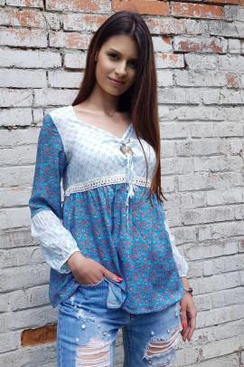 Tunika Larka modrá
