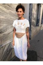 Šaty OXANA biele
