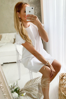 Šaty Marina biele